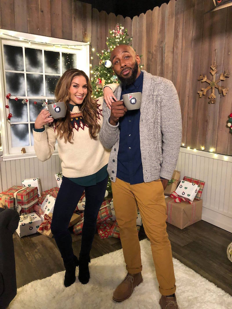 Stephen tWitch Boss and allison Pop Up Santa