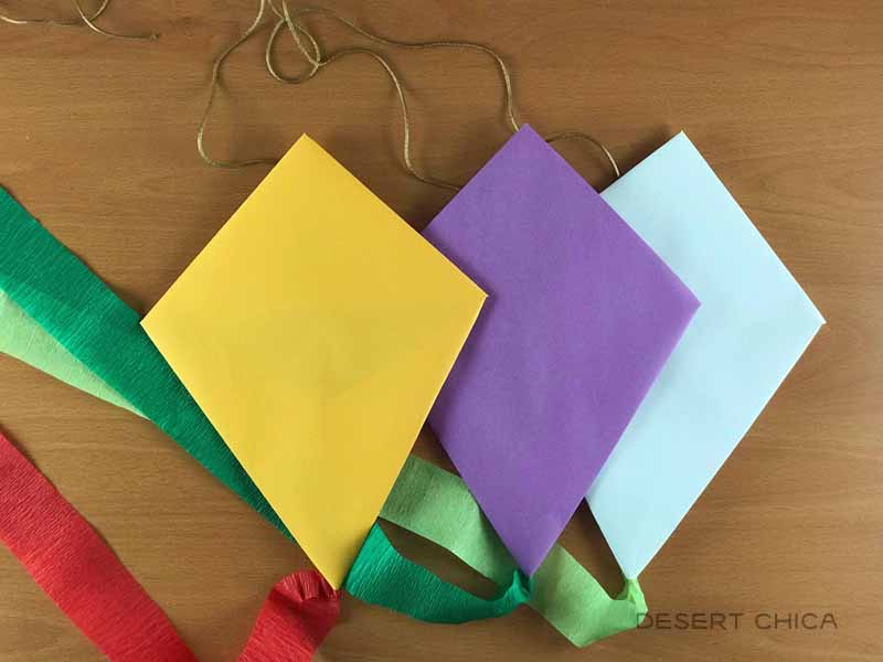 Mary Poppins Easy Kite Craft for Kids