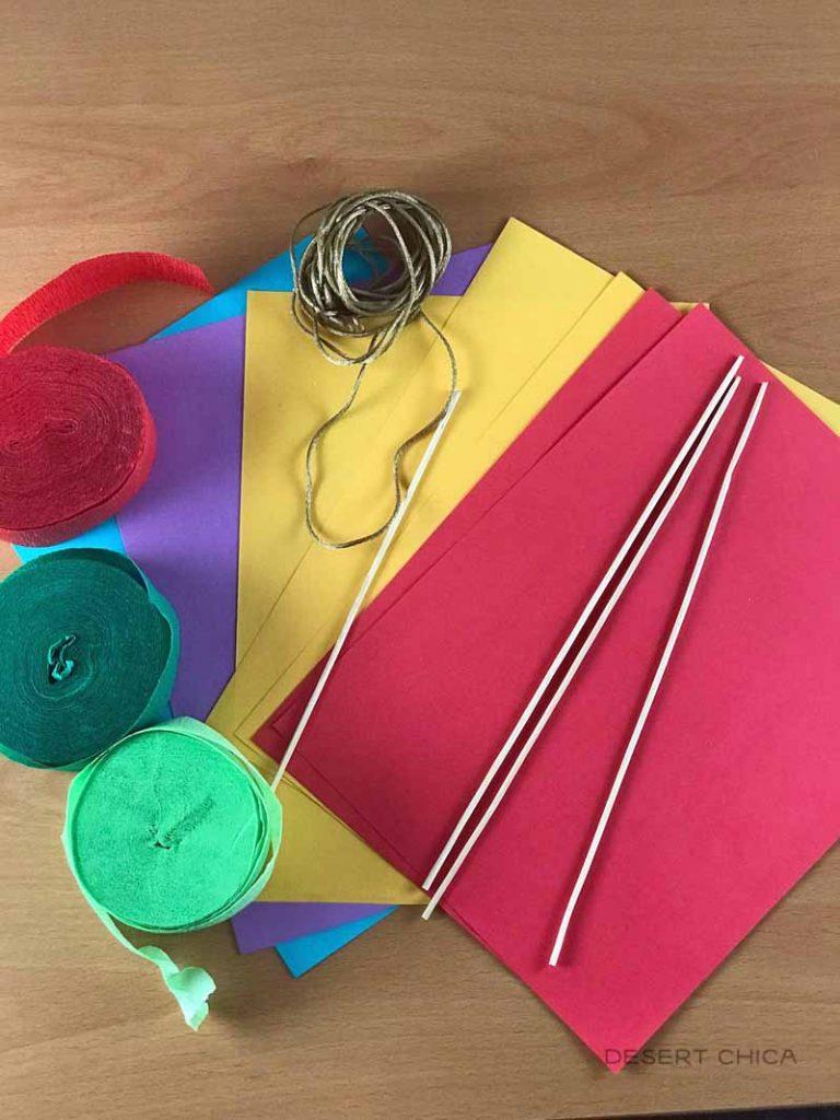 Mary Poppins Kite Craft Supplies