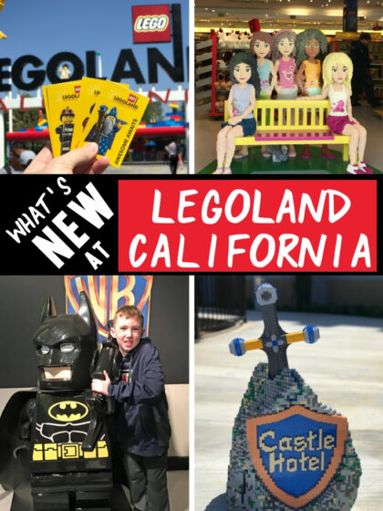 Check out all fun new things to do at LEGOLAND California in 2019. Including free admission for kids to celebrate LEGOLAND's 20th birthday, LEGO Movie Days, new LEGO Friends show and a LEGO 4D Movie. Plus don't forget about the new fun from 2018 including the LEGOLAND Castle Hotel and new ride, LEGO City Deep Sea Adventure submarine ride. California Travel   LEGOLAND California Tips   LEGOLAND California Secrets  Lego land California