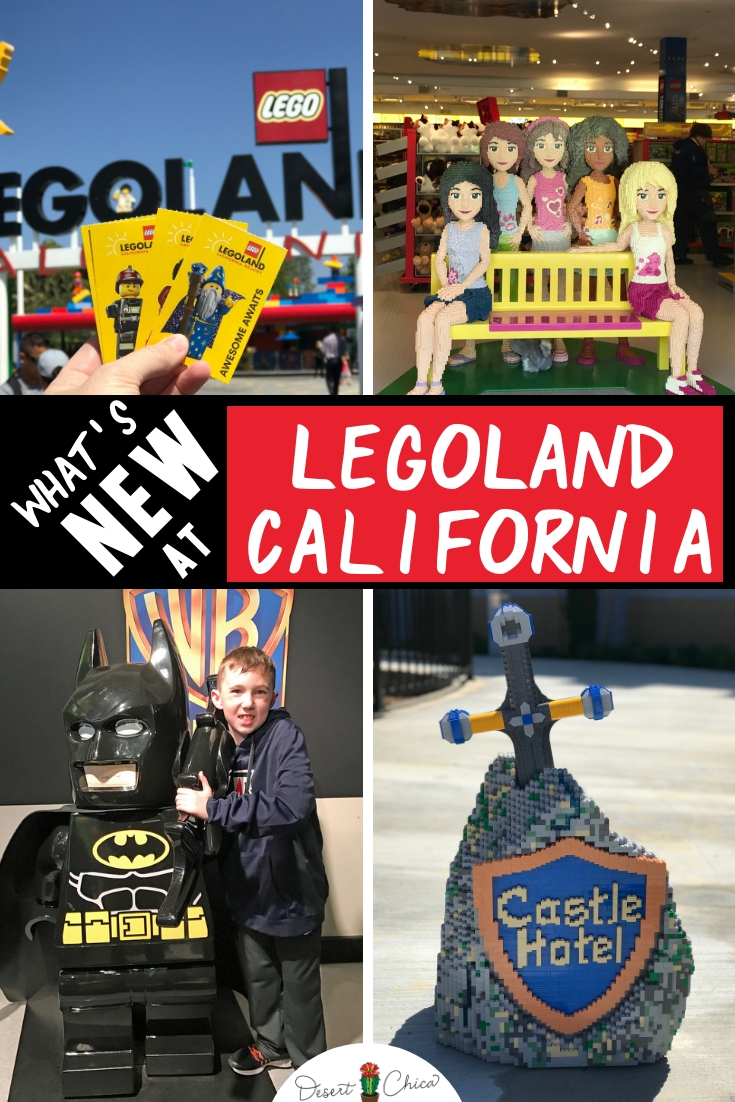 Check out all fun new things to do at LEGOLAND California in 2019. Including free admission for kids to celebrate LEGOLAND's 20th birthday, LEGO Movie Days, new LEGO Friends show and a LEGO 4D Movie. Plus don't forget about the new fun from 2018 including the LEGOLAND Castle Hotel and new ride, LEGO City Deep Sea Adventure submarine ride. California Travel | LEGOLAND California Tips | LEGOLAND California Secrets| Lego land California
