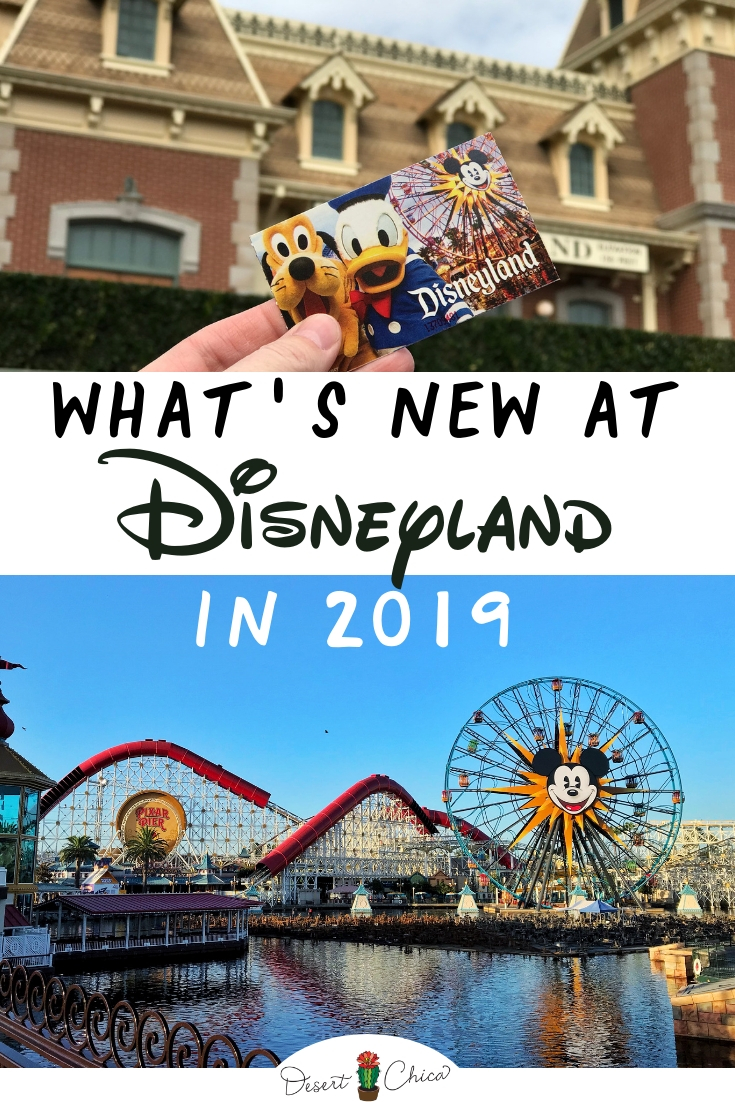 What's new at Disneyland in 2019. 2019 will be a huge year for Disney Parks with Star Wars: Galaxy's Edge opening at Disneyland in the summer of 2019 and at WDW in the fall of 2019. Disneyland will also host some cool events like the Disneyland Food and Wine Festival and open new attractions on Pixar Pier! Check out all the cool details! #Disneyland #DisneylandResort #Disneylandtips #Disneyland2019 #Disneylandstarwars #StarWars #GalaxysEdge #PixarPier