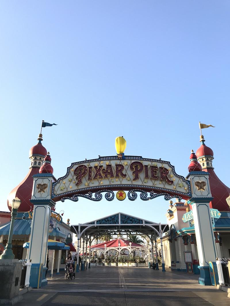wo new attractions open on Pixar Pier at Disneyland in 2019