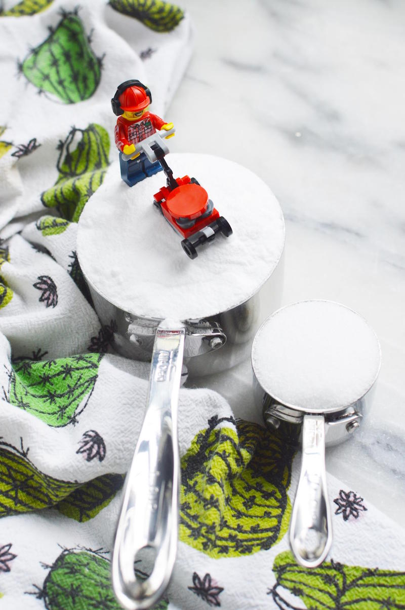 DIY LEGO Bath Bomb Ingredients