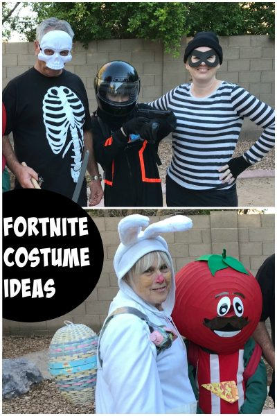 A selection of Fortnite costume ideas