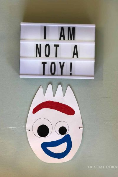 How to Make a Forky Toy Story Mask