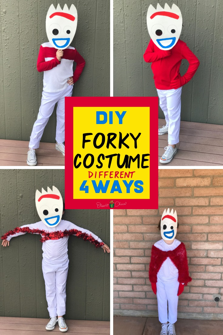 Toy Story Inspired Forky Costume