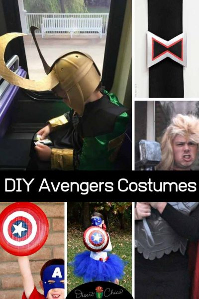 Marvel Halloween Costumes Diy.Blog Desert Chica