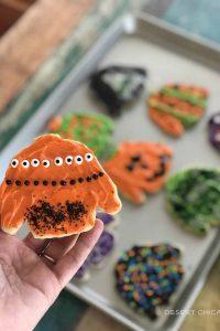 Ugly Halloween Sweater Cookies
