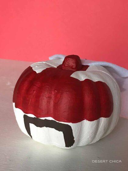 Duke Caboom Pumpkin with Cape