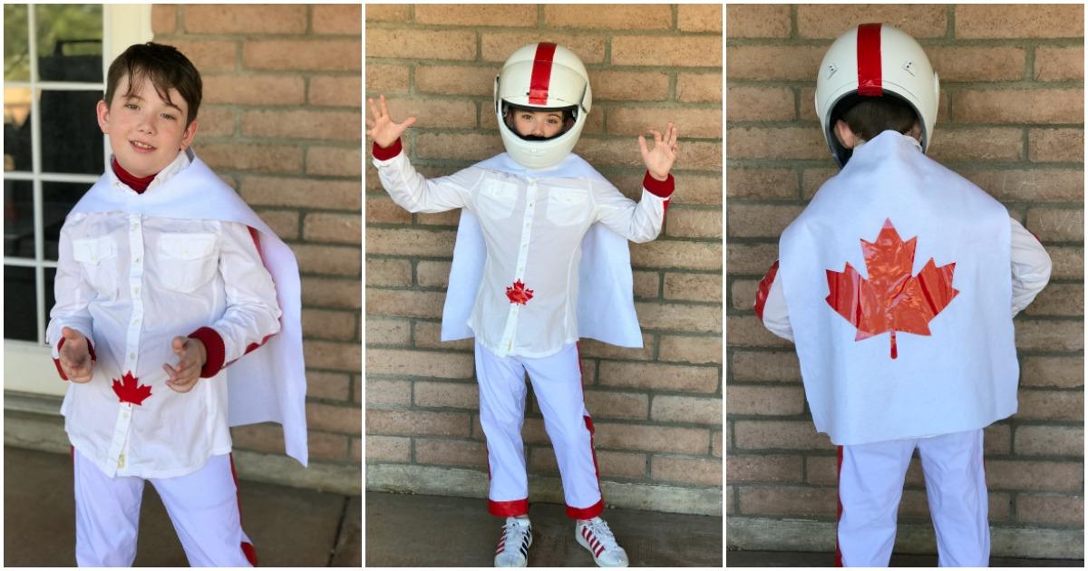 Toy Story Duke Caboom Costume White