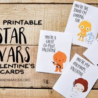 Star Wars Valentine's Day Cards for Kids - Our Handcrafted Life