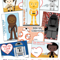 Free Printable Star Wars Valentines Cards