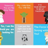 Free Printable Star Wars Valentine's Day Cards