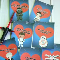 Free Printable Star Wars: The Force Awakens Cute Valentine's Cards - Mom Endeavors