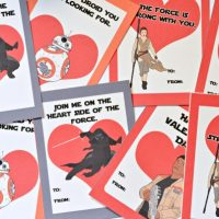 FREE Printable Star Wars: The Force Awakens Valentines