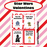 Star Wars Valentine Cards FREE Printable | Mommy Evolution