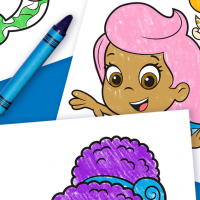 Meet Zooli Bubble Guppies Coloring Pages