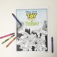 Toy Story of Terror! Coloring Page