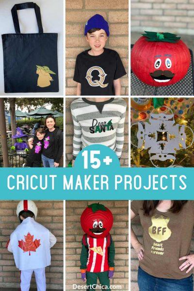 15 Fun Cricut Maker Projects