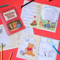 Winnie the Pooh Activity Book