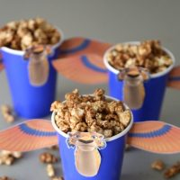 Disney Inspired Churro Popcorn