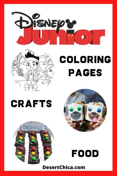 Disney Junior TV Shows Activities