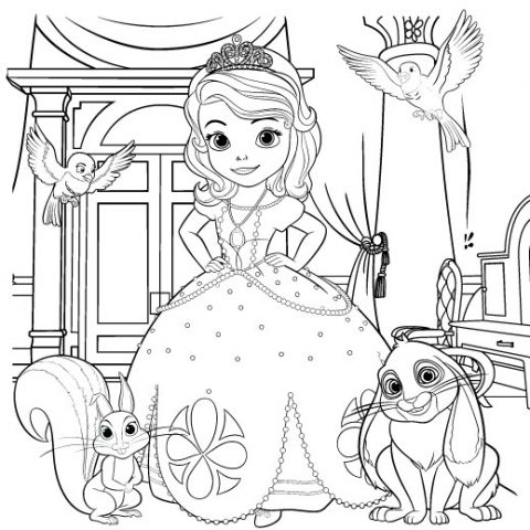 375 Best Disney Coloring Pages images | Disney coloring pages ... | 480x480