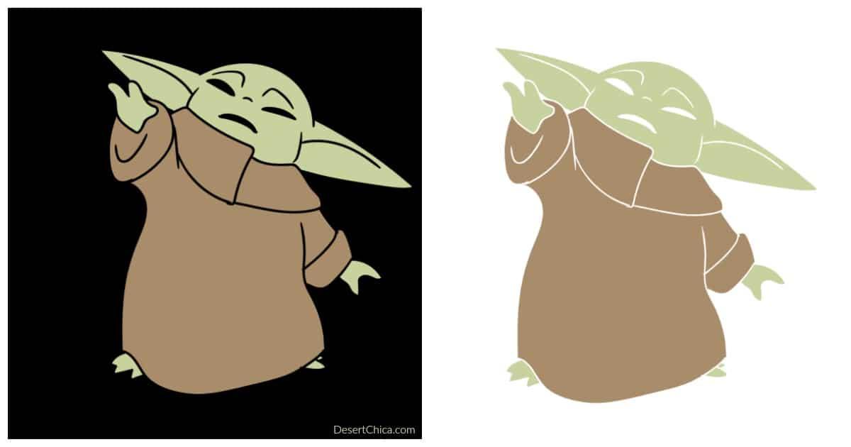 Diy Baby Yoda Tote Desert Chica
