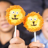 The Lion Guard Lion Cookie Pops
