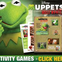 Free Muppets Most Wanted Coloring Pages and Activity Sheets