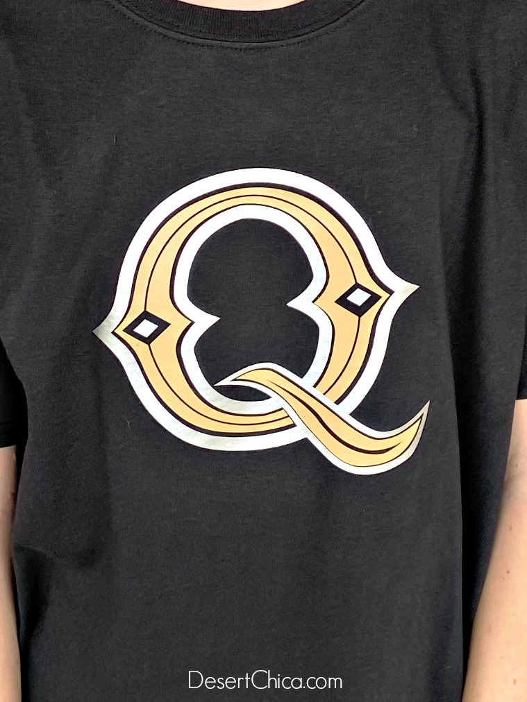 Q on shirt