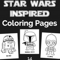 Star Wars Inspired Coloring Pages