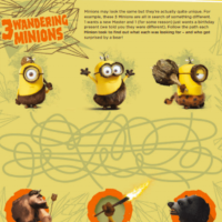 Minions Free Printable Activities and Coloring Pages