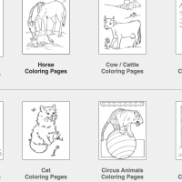 Over 400 Animal Coloring Pages