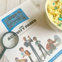 Spies In Disguise Movie Night printables