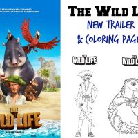 New Trailer: The Wild Life + Free Coloring Pages!