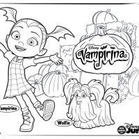 Vampirina Coloring Pages