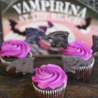Disney Junior Vampirina Bat Wing Cupcakes