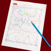 Dumbo's Circus Coloring Page | Disney Family