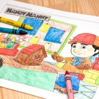 Handy Manny Coloring Page