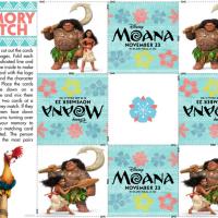 Disney's Moana Fun Activity Sheets
