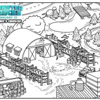 Monster Trucks movie printable, coloring, and activity sheets