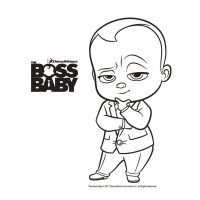 Boss Baby printables, Free coloring printables for The Boss Baby