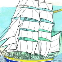 Color Galveston: FREE Coloring Pages