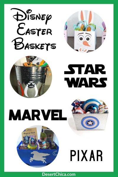 DIY Disney Easter Baskets