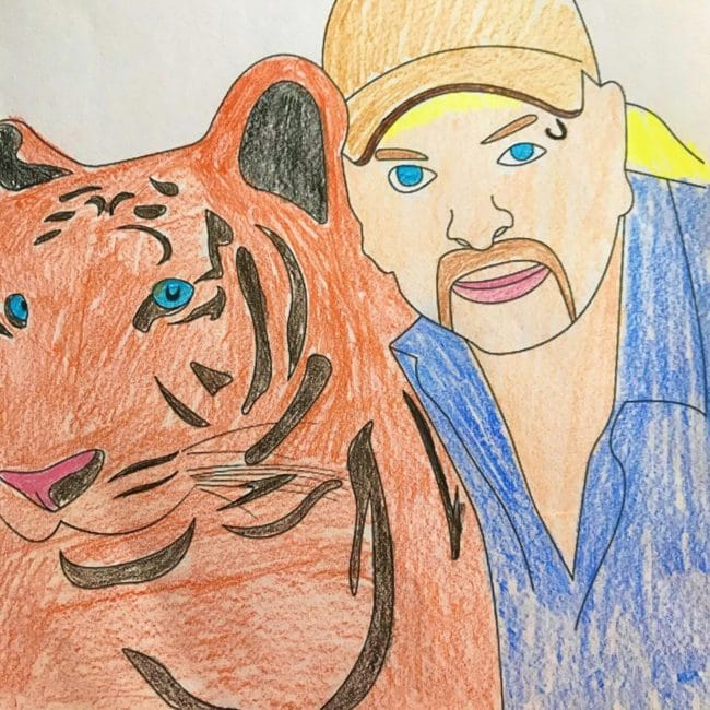 Free Netflix Tiger King Coloring Pages and Activities