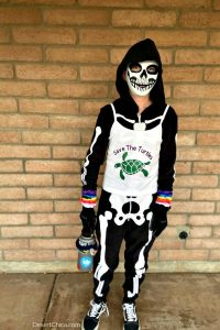 VSCO Boy Skeleton Costume