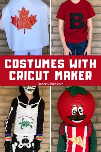 Costumes with Cricut Maker