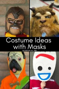 Easy Costumes with Masks